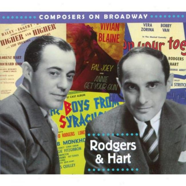 Composers On Broadway: Rodgers & Hart (digi-pak) (remaster)