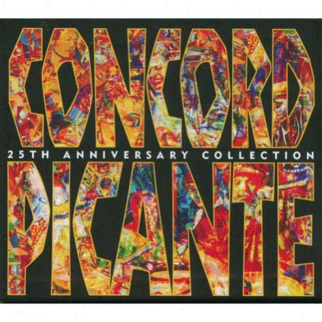 Concord Picante: 25th Anniversary Collection (box Embarrass) (remaster)