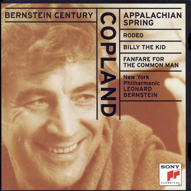 Copland: Appalachian Spring/rodeo/billy The Kid/fanfare For The Common Man