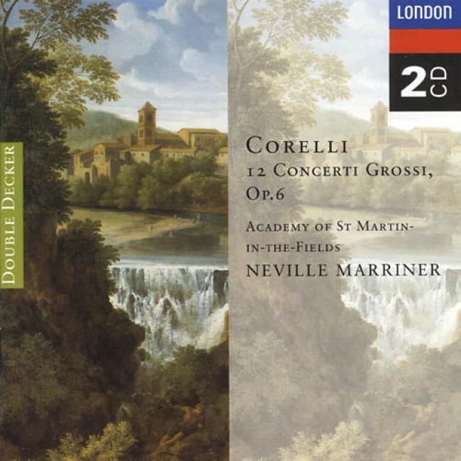 Corelli: 12 Concerti Grossi Op.6 (2cx) (remaster)