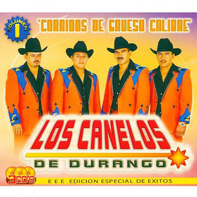 Corridos De Grueso Calibre, Vol.1 (special Edition) (3 Disc Box Set)