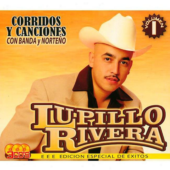Corridos Y Canciones, Vol.1 (special Edition) (3 Disc Box Set)