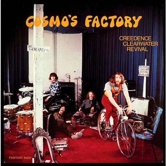 Cosmo's Factory (40th Day of annual celebration Edition) (remaster)