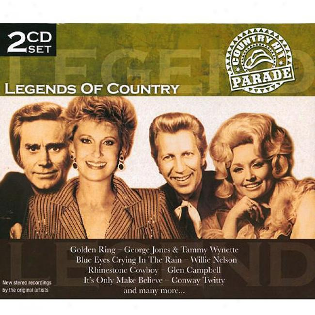 Country Hit Parade: Legends Of Country (2 Disc Box Set)