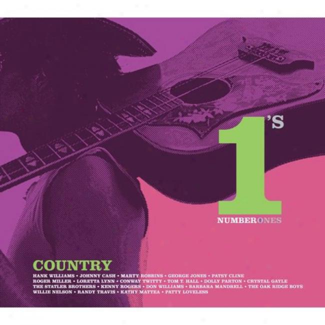 Country: Number 1's (with Biodegradable Cd Case)