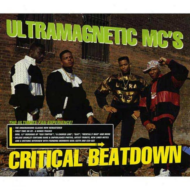Critical Beatdown (edited) (cd Slipcase) (remaster)