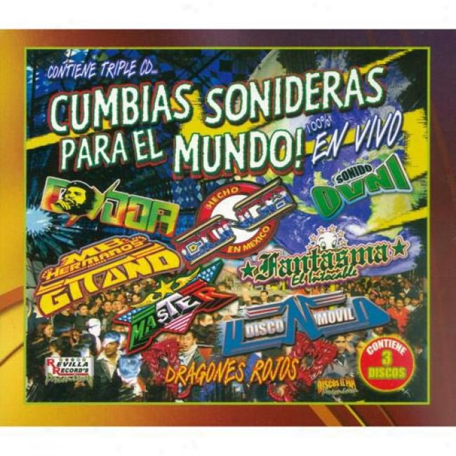 Cumbiad Sonideras Para El Mundo!: En Vivo (limited Edition) (3 Disc Box Set)