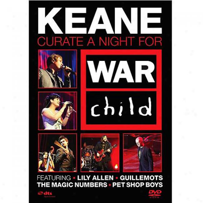 Curate A Night For War Offspring (music Dvd) (amaray Case)