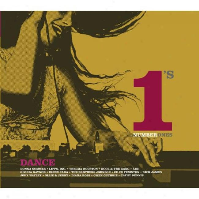 Dance: Number 1's (with Biodetradable Cd Cawe)