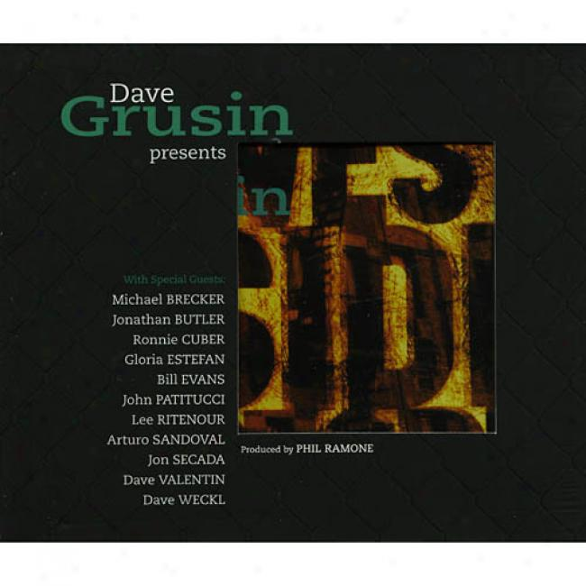 Dave Grusin Presents: West Side Story (cd Slipcase)