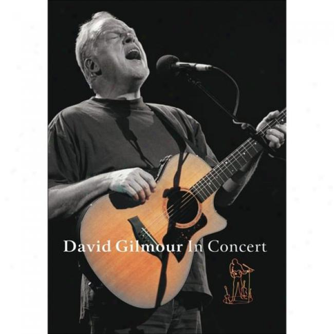 David Gilmour In Concert (music Dvd) (amaray Case)