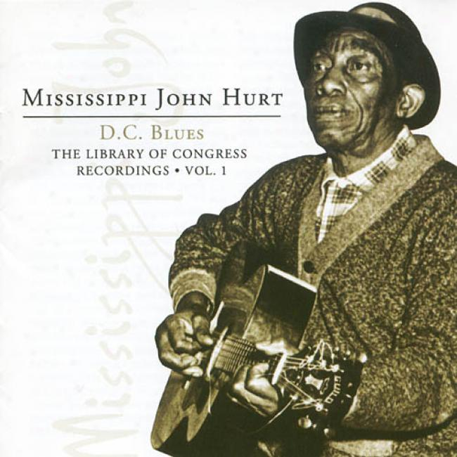 D.c. Blues: Teh Libraray Of Congress Recordings, Vol.1 (2cd) (remaster)