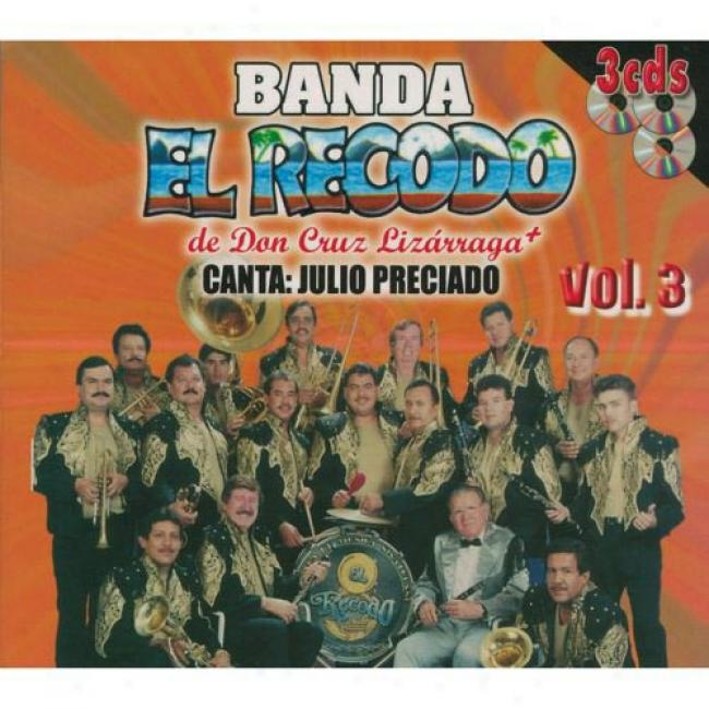 De Don Cruz Lizarraga Canta: Julio Preciado, Vol.3 (3cd) (digi-pak)
