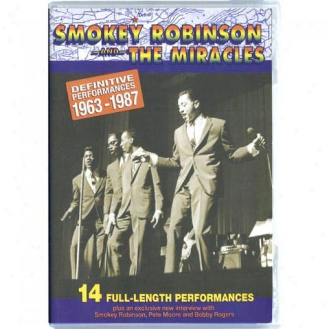 Definitive Performances: 1963 - 1987 (music Dvd) (amaray Case)