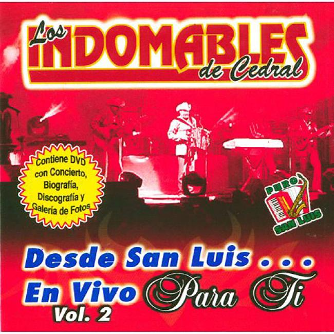 Desde San Luis... En Vivo Para Ti, Vol.2 (includes Dvd)