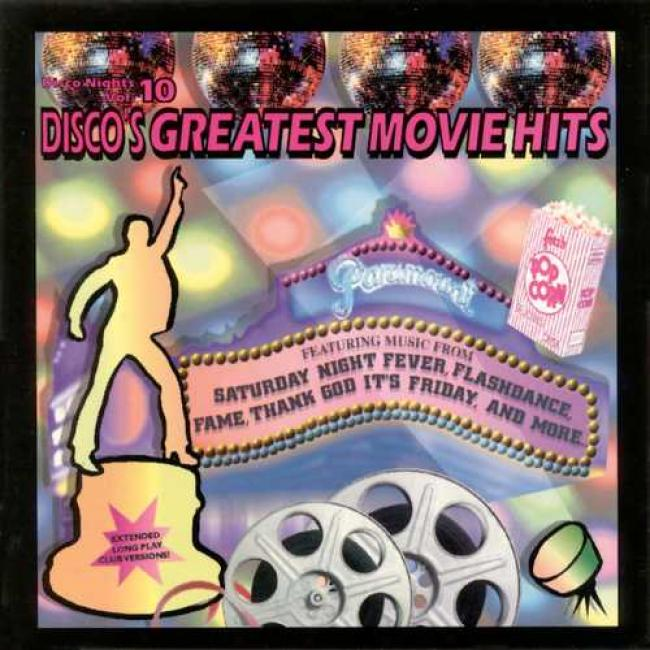 Disco Nights Vol.10: Disco's Greatest Movie Hits