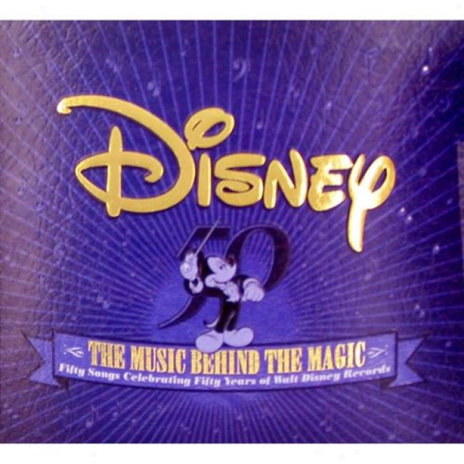 Disney: The Music Behid The Magic (2cd) (digi-pak)