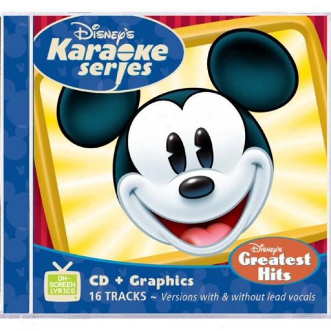 Disney's Karaoke Series: Disneey's Greatest Hits