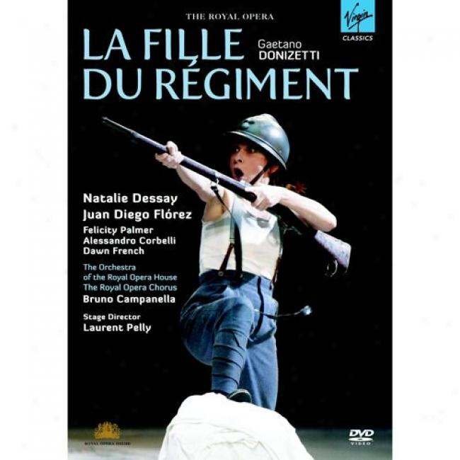 Doniz3tti: La Fille Du Regiment (music Dvd) (amaray Case)