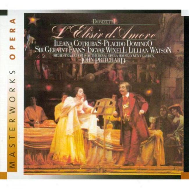 Donizetti: L'elisir D'amore (2cd) (digi-pak) (remaster)
