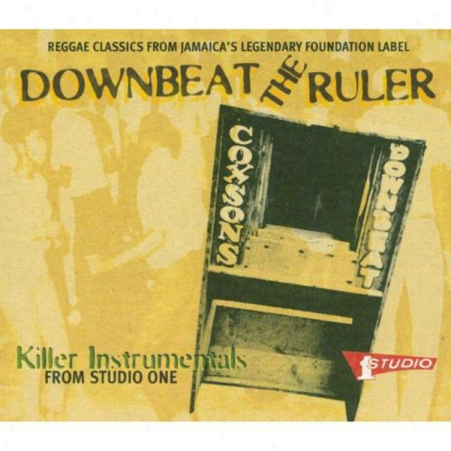 Downbeat The Ruler: Killer Instrumentals From Studio One (cd Slipcase) (remaster)