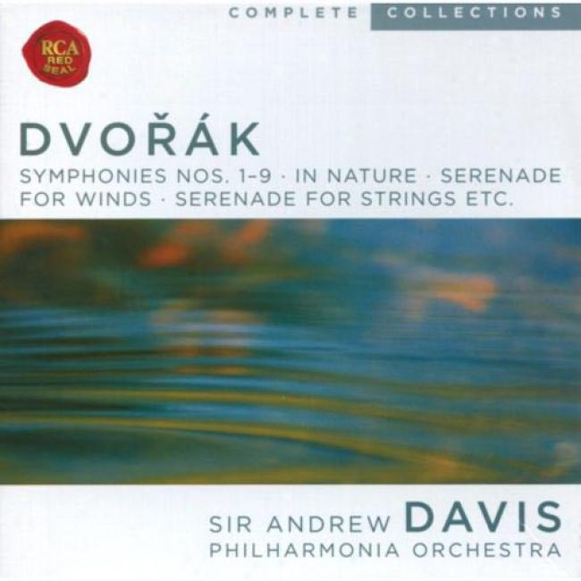 Dvorak: Symphonies Nos.1-9/in Nature/serenade For Winds/serenade For Strings, Etc... (7 Disc Box Set)