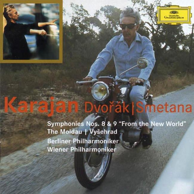 Dvorak: Symphonies Nos.8 & 9/smetana: The Moldau (2cd) (remaster)