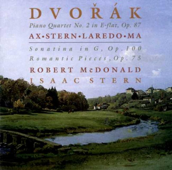 Dvork: Piano Quartet No.2, Sonatina In G, Romantic Pieces