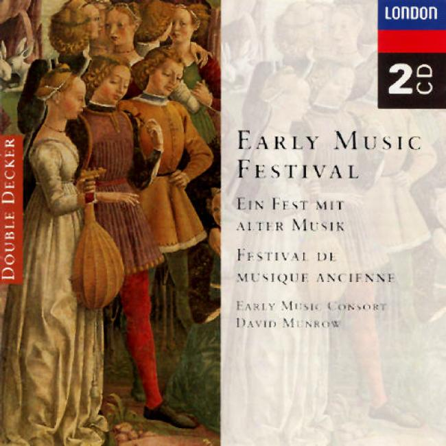 Early Music Festival / David Munrow, Early Music Consort