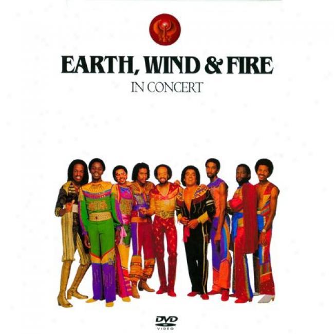 Earth, Wind & Fire: InC oncert (music Dvd) (amaray Case)