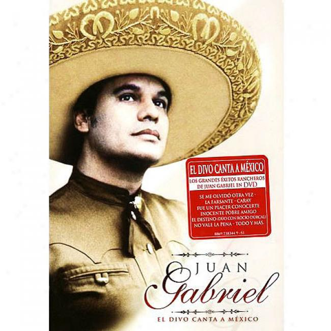 El Divo Canta A Mexico (music Dvd) (amaray Case)