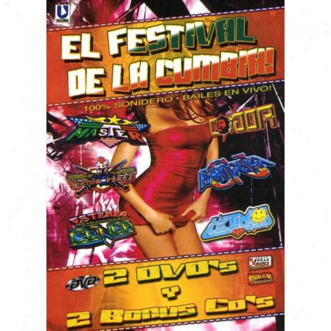 El Festival De La Cumbia! (2 Discs Music Dvd/cd) (amaray Case) (dvd Slipcase)