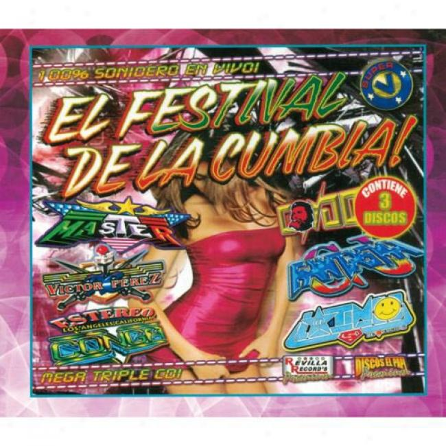 El Feast De La Cumbia! (limited Edition) (3 Disc Box Set)