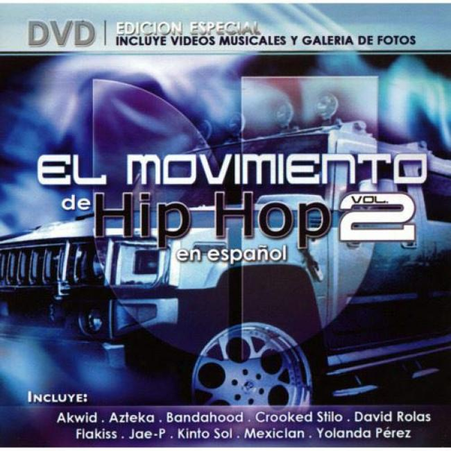 El Movimiento De Hip Hop, Vol.2 (includes Dvd)