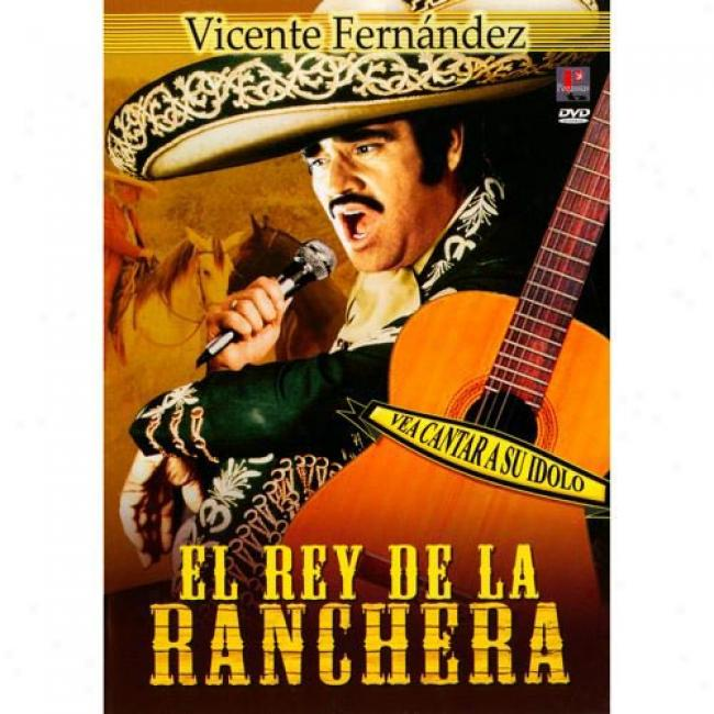 El Rey De La Ranchera (2D iscs Music Dvd) (amaray Case) (remaster)