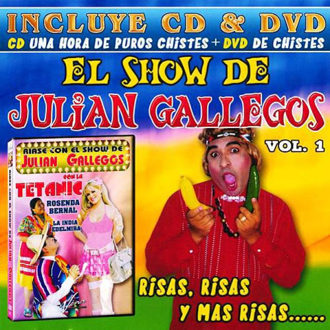 El Spectacle De Julian Gallegos, Vol.1 (includes Dvd)