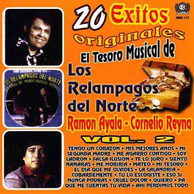 El Tesoro Musical De Los Relampagos Del Norte, Vol.2