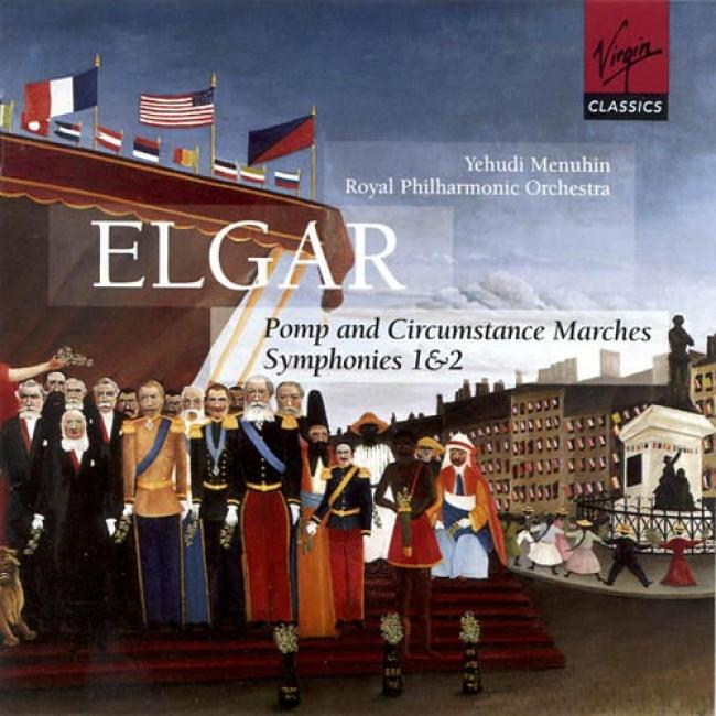 Elgar: Symphonies Nos.1 & 2/pomp And Circumstance Marches (2cd)