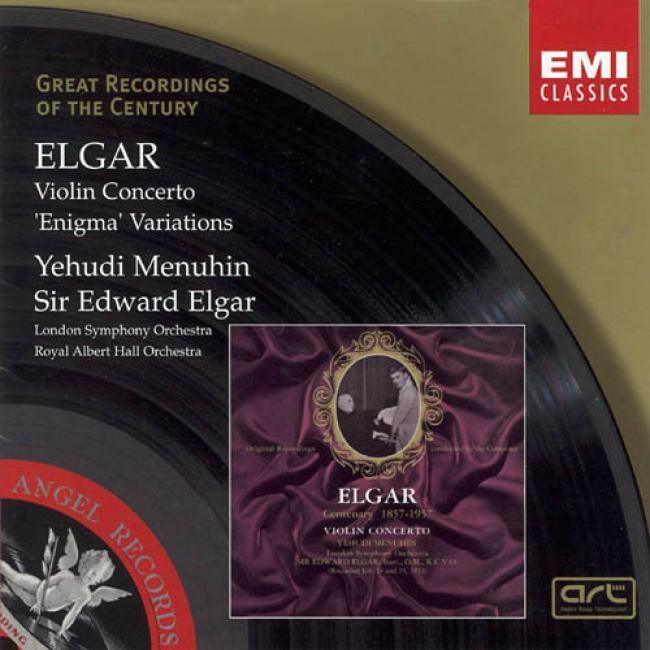 Elgar: Violin Concerto/