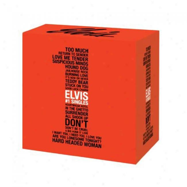 Elvis #1 Singles (limited Edition) (20 Disc Box Prescribe)