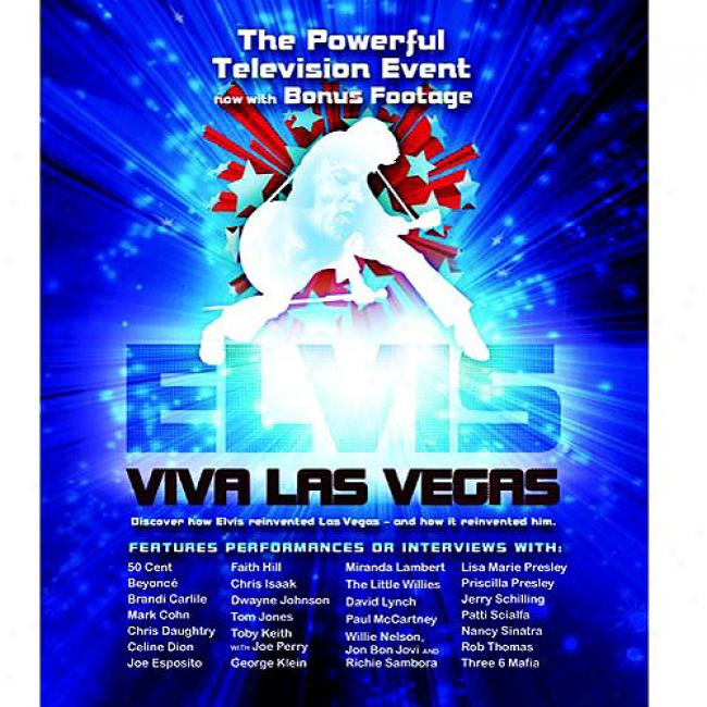Elvis: Viva Las Vegas (wal-mart Exclusive) (music Blu-ray) (bd Amaray Case)
