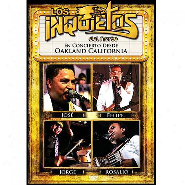 En Concierto Desde Oakland Californua (music Dvd)