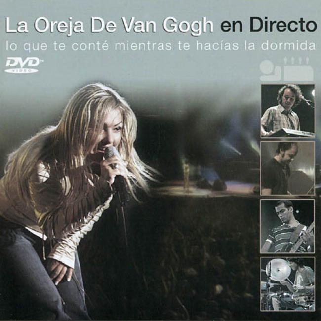 En Directo: Lo Que Conte Mientras Te Hacias La Dormida (includes Dvd)