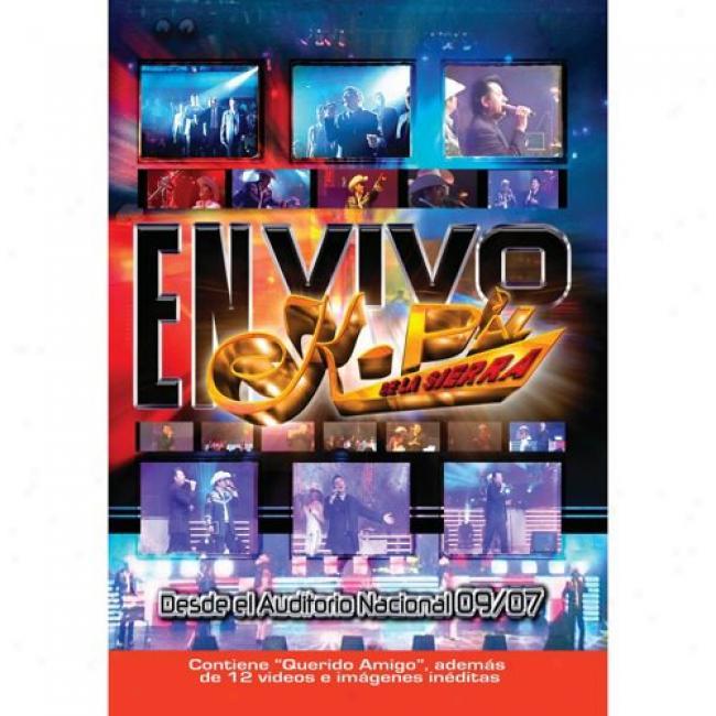 En Vivo Desde El Auditorio Nacional 09/07 (music Dvd) (amaray Case)