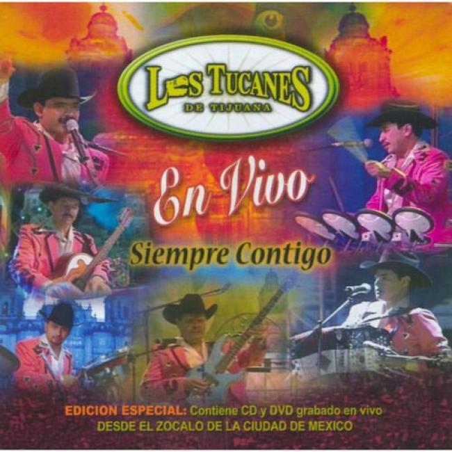 En Vivo: Siempre Contigo (special Edition) (includes Dvd)