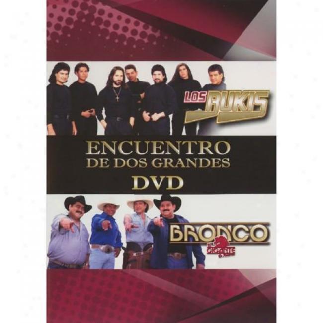 Encuentro De Dos Grandes (music Dvd) (amaray Case)