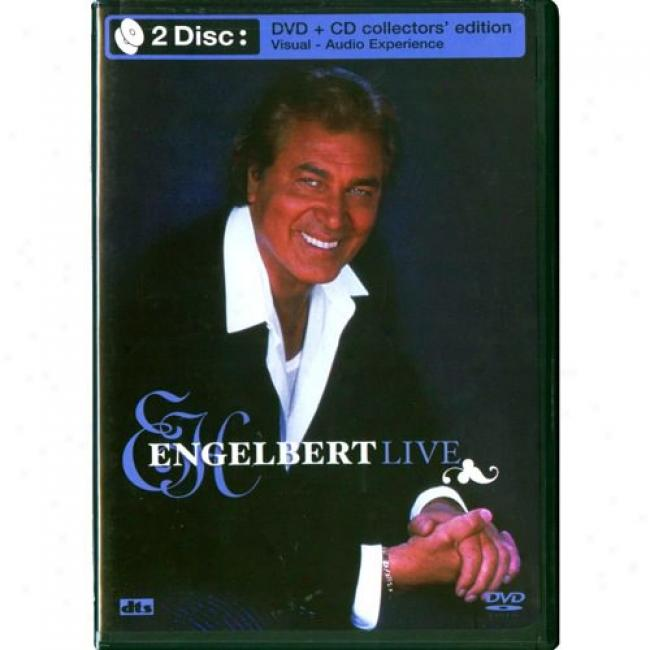 Engelbert Live (collector's Edition) (Melody Dvd/cd) (amaray Case)