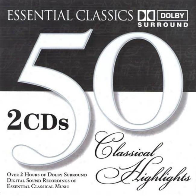 Indispensable element Classics: 50 Classical Highlights (2cd)