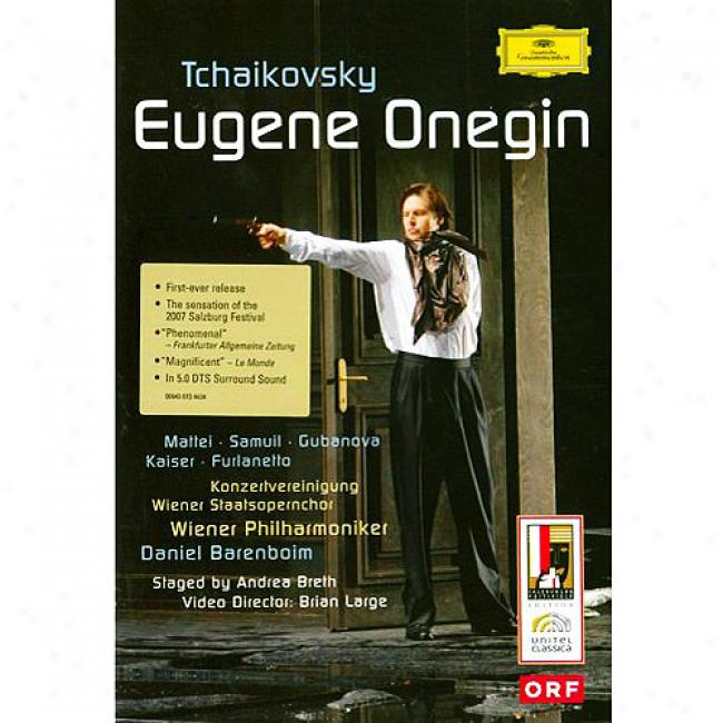 Eugene Onegin (2 Discs Music Dvd) (amaray Case)