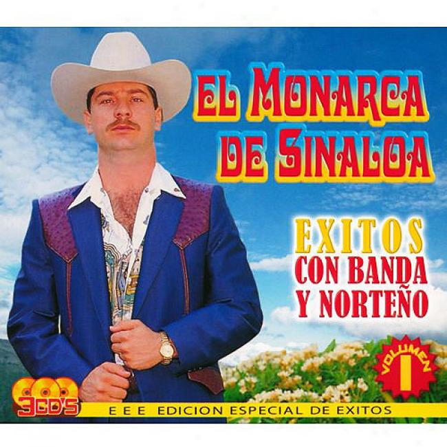 Exitos Con Banda Y Norteno, Vo.1 (special Edition) (3 Disc Box Set)